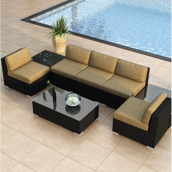 Azariah 8 Piece Sectional Set with Cushions by Orren Ellis