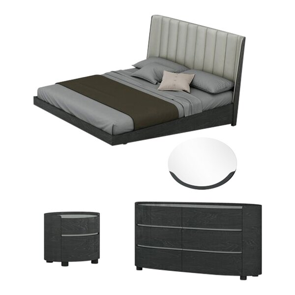 Sima Platform Configurable Bedroom Set by Orren Ellis