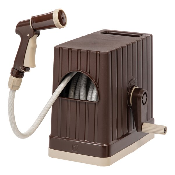 Plastic Hose Reel with Nozzle by IRIS USA, Inc.