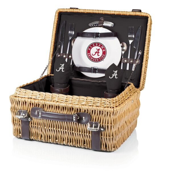 NCAA Champion Picnic Basket by Picnic Time