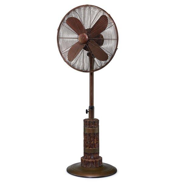 Reames 18 Oscillating Floor Fan by Loon Peak