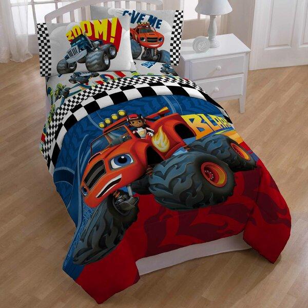 Blaze Fast Track All Season Down Alternative Comforter by Nickelodeon