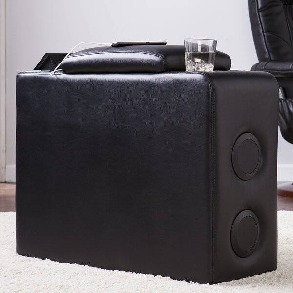 Portable Bluetooth Speaker Console with USB Ports