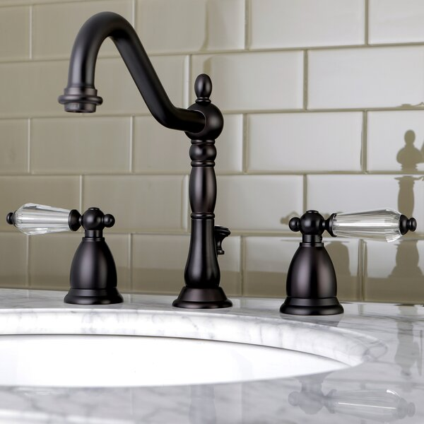 Wilshire Widespread Bathroom Faucet with Drain Assembly