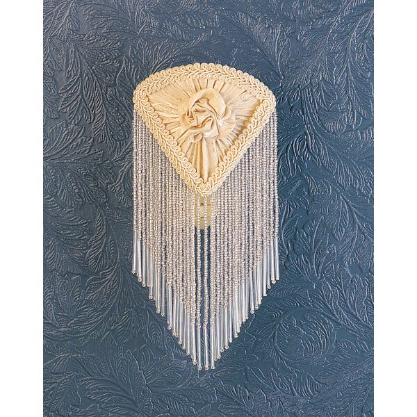 Pontiff Fabric with Fringe Night Light by Meyda Tiffany