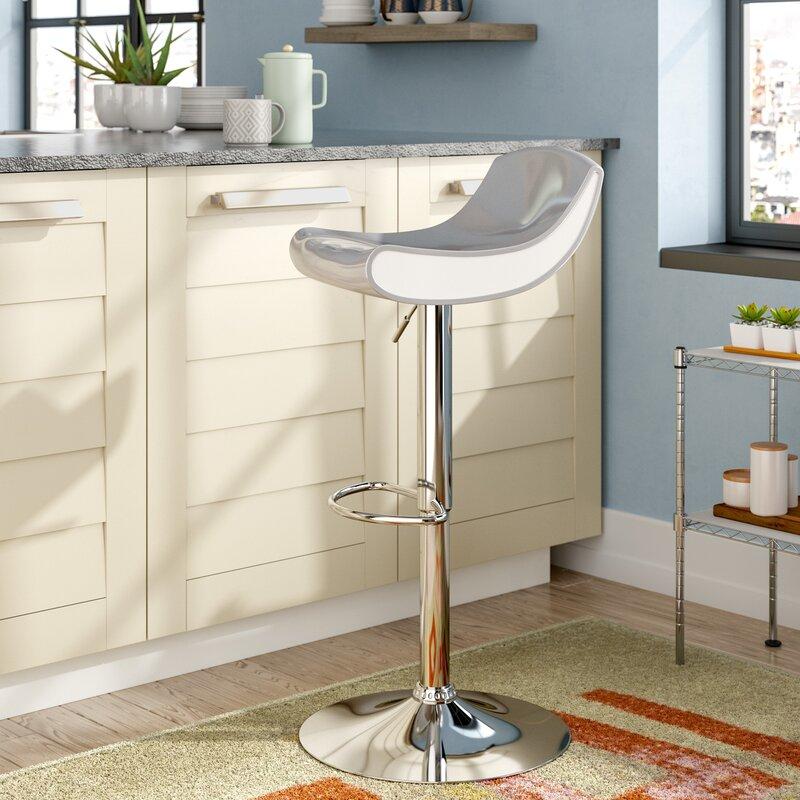 Cool brescia adjustable height swivel bar stool with interior design brescia - Interior design brescia ...