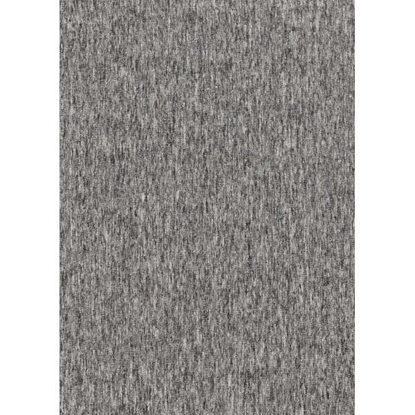 Fraher Hand Braided Wool Charcoal Rug