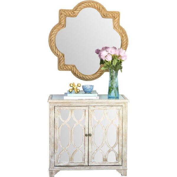 Higginsville 2 Door Mirrored Accent Cabinet