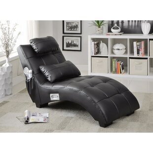 Maresova Leather Chaise Lounge