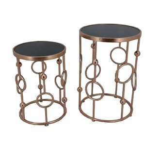 Ora End Table (Set of 2) by Sagebrook Home