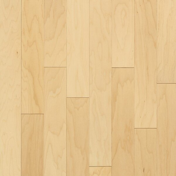 Turlington 3 Engineered Maple Hardwood Flooring in Low Glossy Natural by Bruce Flooring