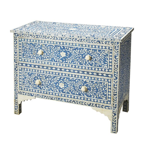 Irvington 2 Drawer Chest by Bungalow Rose