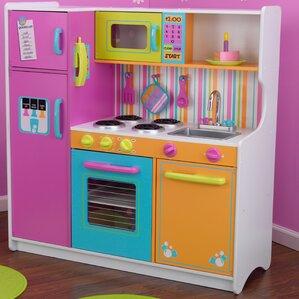 Nice Deluxe Big U0026 Bright Kitchen Play Set