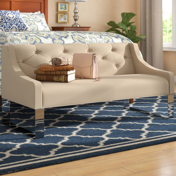 Almondsbury Upholstered Bench by Darby Home Co Darby Home Co
