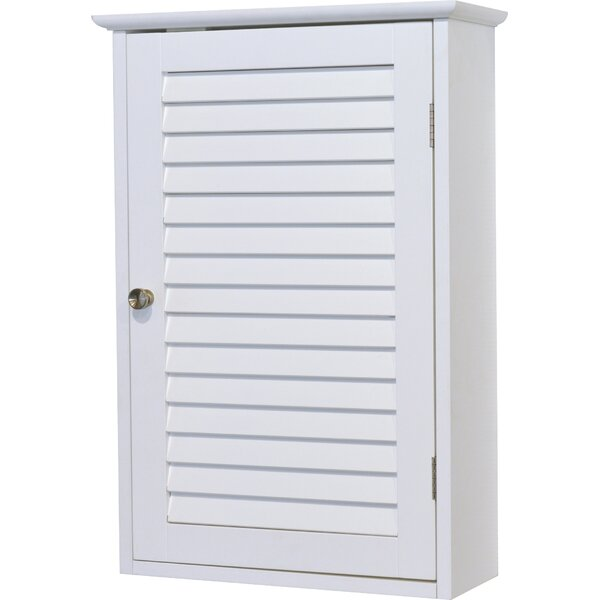 Florence 15.7 W x 24.2 H Wall Mounted Cabinet by Evideco