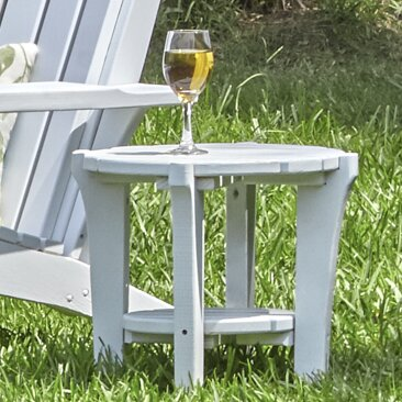 Dina Side Table by Breakwater Bay