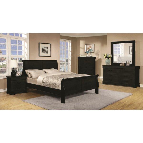 Brunwood Sleigh 5 Piece Bedroom Set by Charlton Home