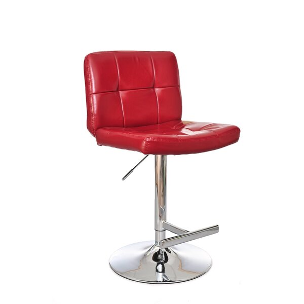 Miraval Adjustable Height Swivel Bar Stool by Ultimate Accents