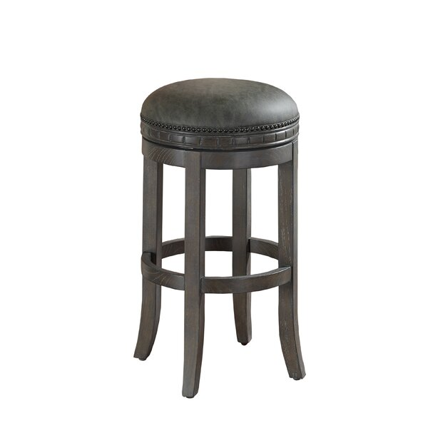 Bulwell 30 Swivel Bar Stool by Darby Home Co