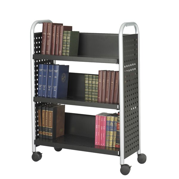 Scoot Book Cart By Safco Products Company.