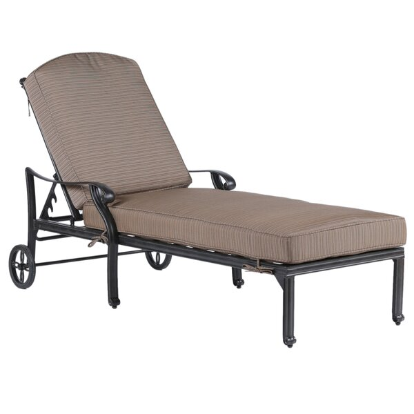 Erastus Sun Lounger Set with Cushions (Set of 2) by Darby Home Co Darby Home Co