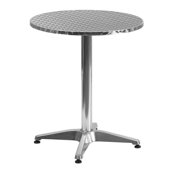 Clarendon Aluminum Bistro Table by Zipcode Design