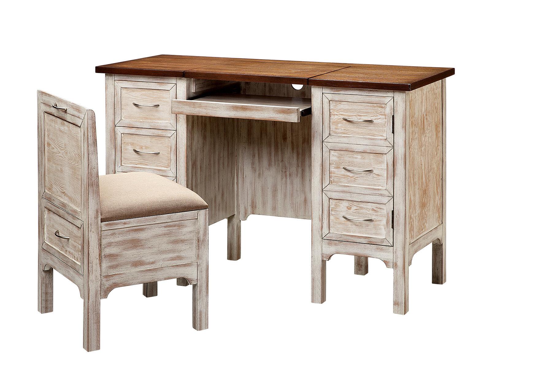 Image of: One Allium Way Bridgnorth Computer Desk And Chair Set Reviews Wayfair Ca
