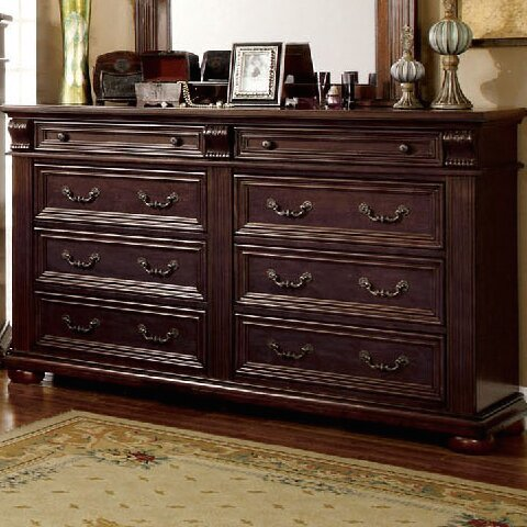 Ellis 8 Drawer Double Dresser by A&J Homes Studio