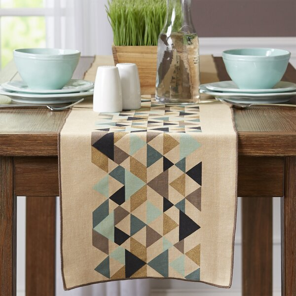 Tessellate Table Runner by Danica Studio