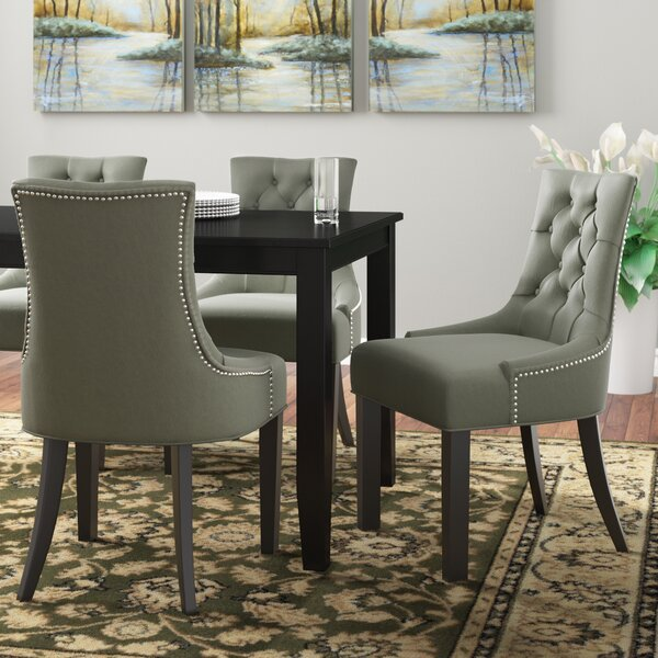Reynesford Upholstered Dining Chair (Set of 2) by Charlton Home