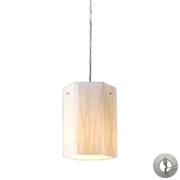 Panama City 1-Light Geometric Pendant by Bay Isle Home