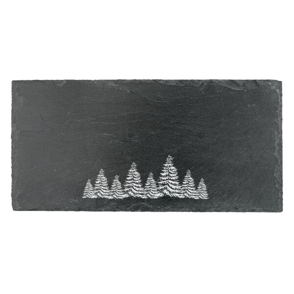 Evergreen Slate Board Platter by Twine