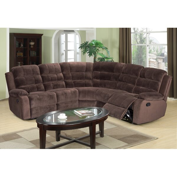 Check Out Our Selection Of New Sitz Symmetrical Reclining Sectional by Red Barrel Studio by Red Barrel Studio