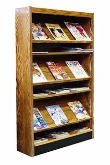 Single Face Open Back Magazine Shelf by W.C. Heller