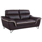 Matheny Luxury Upholstered Living Room Loveseat byOrren Ellis