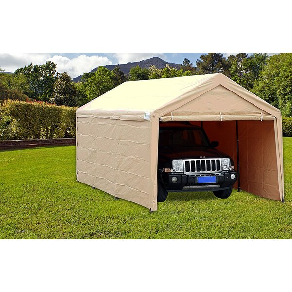 10 Ft. W x 20 Ft. D Metal Pop-Up Canopy by SoraraOutdoorLiving