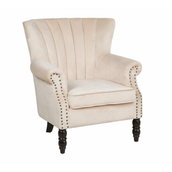 Batista Velvet Armchair by Canora Grey