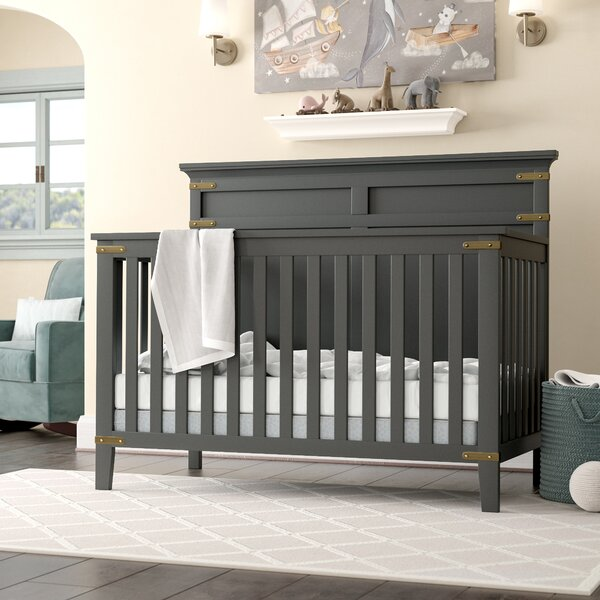 Harrigan 4-in-1 Convertible Crib by Harriet Bee