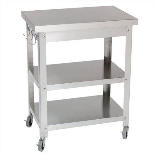 Stainless Steel Kitchen Cart by Danver