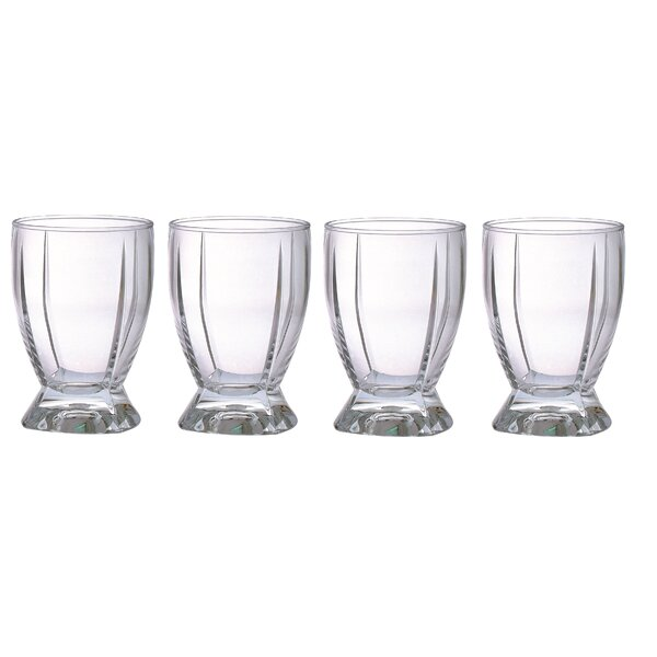 Impression 12 oz. Acrylic Double Old Fashioned Glass (Set of 4) by Chenco Inc.