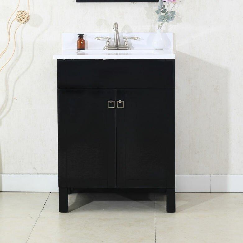 "Bathroom Vanities Harrisburg Pa andover mills applebaum 24"" single bathroom vanity set & reviews"