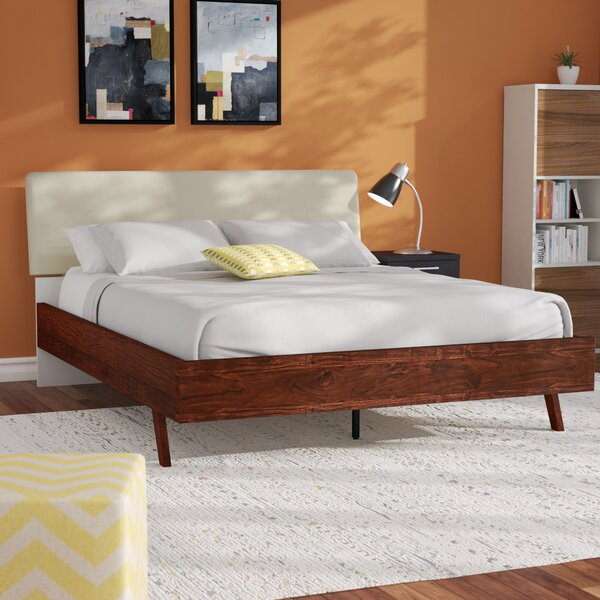 Poulan Queen Upholstered Platform Bed by Langley Street™