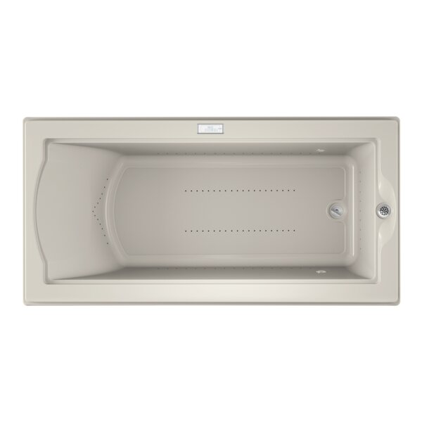 Fuzion Chroma Right-Hand 72 x 36 Drop-In Pure Air Bathtub by Jacuzzi®