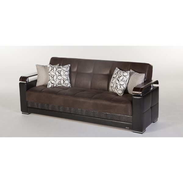 Somerton 3 Seat Sofa Bed by Orren Ellis