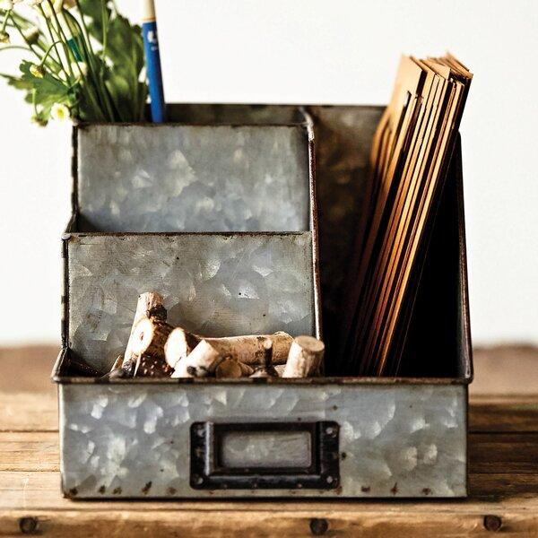 Selim Desk Supplies Organizer by Laurel Foundry Modern Farmhouse