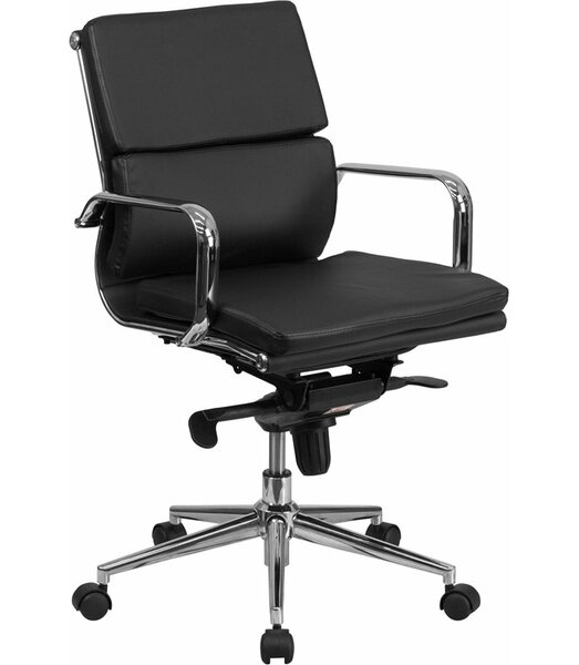 Mccrea Mid-Back Ergonomic Executive Chair by Latitude Run