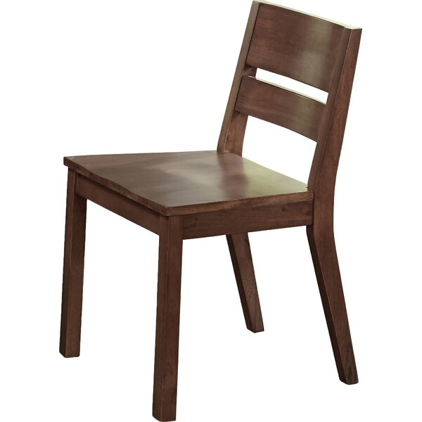 Losey Solid Wood Dining Chair (Set of 2) by Brayden Studio