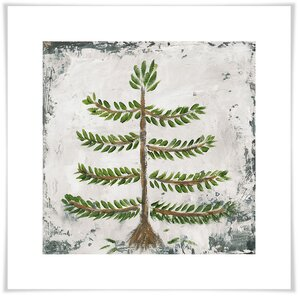 'Forest Pine Tree' Acrylic Painting Print by Union Rustic