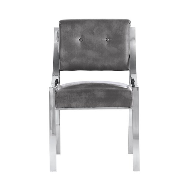 Minetta Upholstered Dining Chair By Orren Ellis