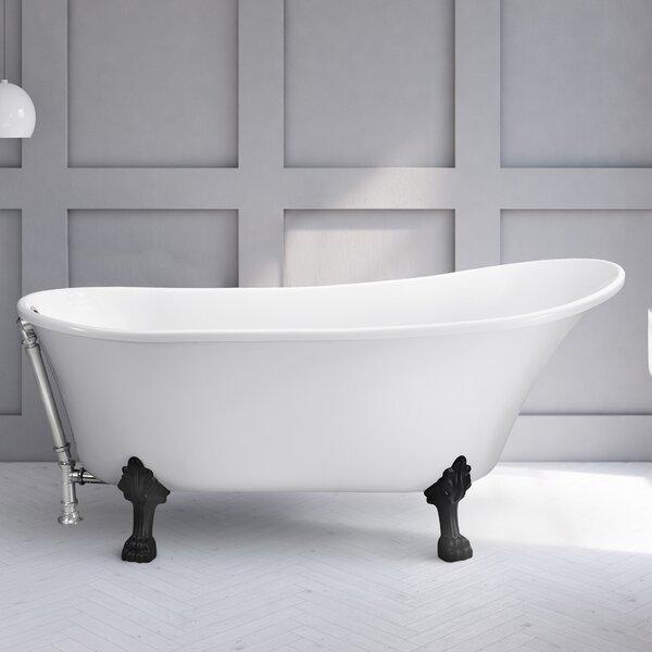 67 x 31.5 Freestanding Soaking Bathtub by Wildon Home ®